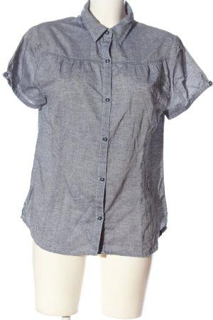 Mc Kinley Short Sleeve Shirt blue flecked casual look