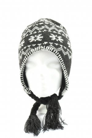 Mc Kinley Lapland Hat black-white graphic pattern casual look