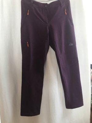 Mc Kinley Pantalon de sport rouge mûre