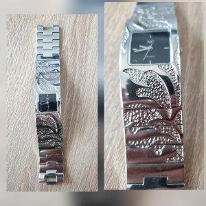 Analoog horloge zilver Gemengd weefsel