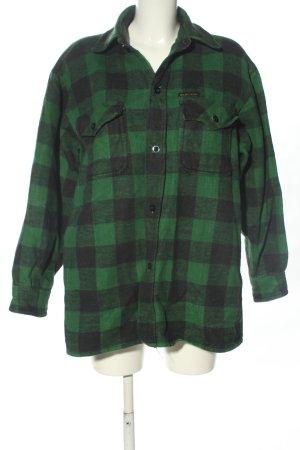 McAllister Lumberjack Shirt green-black allover print casual look