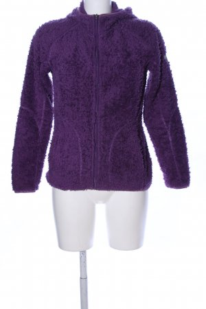 McKinley Fleecejacke lila Casual-Look