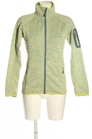 McKinley Fleecejacke grün Casual-Look