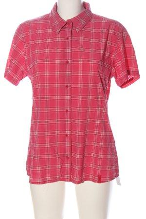 McKinley Holzfällerhemd pink-wollweiß Karomuster Casual-Look