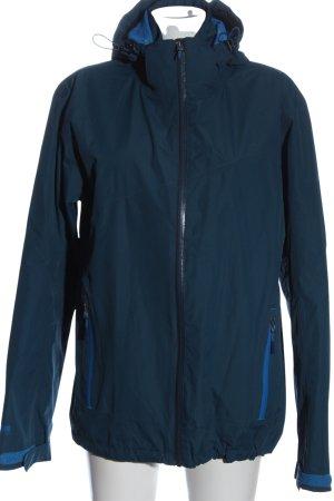 McKinley Kapuzenjacke blau Casual-Look