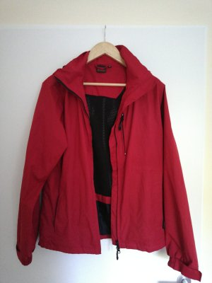 McKinley Kurtka przeciwdeszczowa czerwony-ceglasty