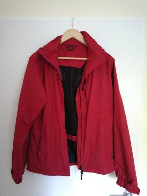 McKinley Raincoat red-brick red