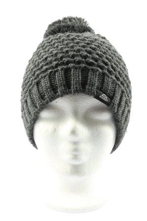 McKinley Sombrero de punto gris claro moteado look casual