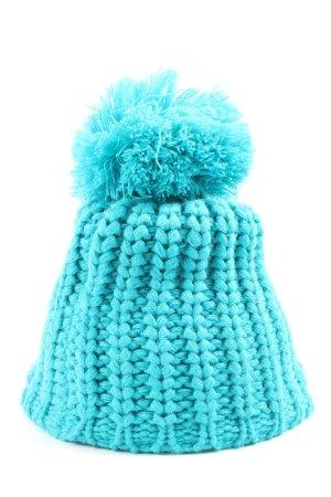 McKinley Chapeau en tricot turquoise style décontracté