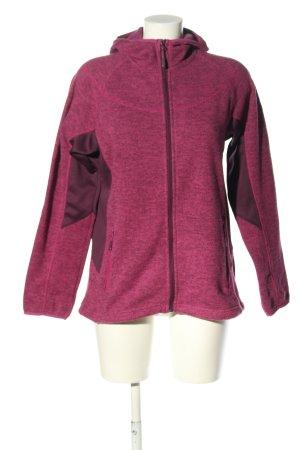 McKinley Sweatjacke pink-braun meliert Casual-Look