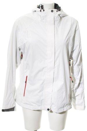 McKinley Übergangsjacke weiß-hellrot sportlicher Stil