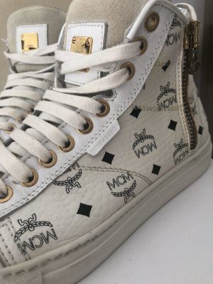 MCM Sneaker stringata bianco