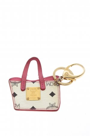 MCM Pendant cream-pink graphic pattern casual look