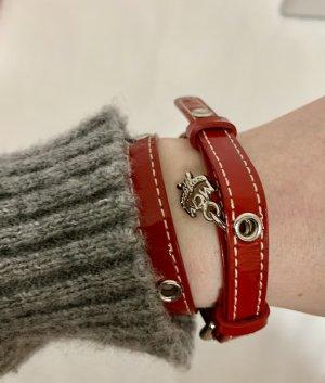MCM Armband rot