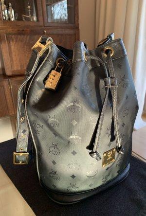 MCM Pouch Bag black nylon