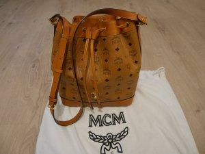 MCM Borsellino color cammello Finta pelle