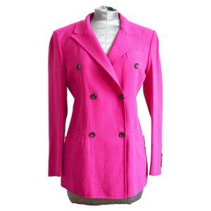 MCM Long Blazer pink wool