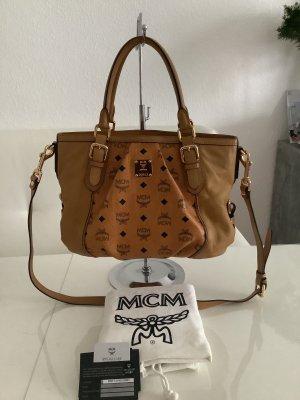 MCM Cognac Tasche
