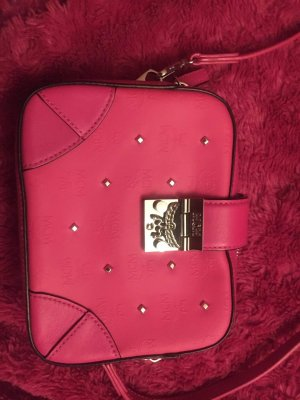MCM Clutch pink leather