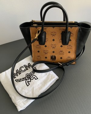 MCM Crossbody bag cognac-coloured-black