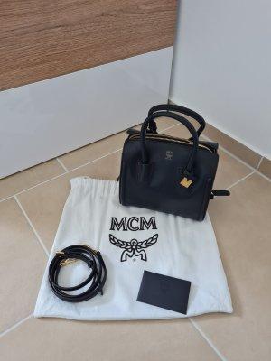 MCM Gekruiste tas zwart-donkerbruin