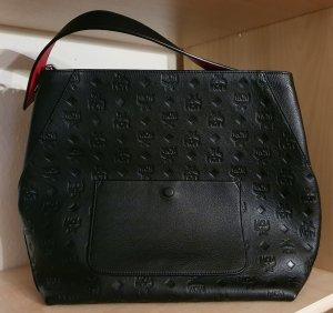 MCM - Damen Handtasche - Tragetasche - schwarz