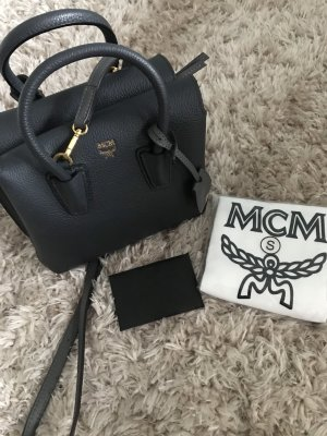 MCM Designer Tasche Handtasche Milla bag small dunkelgrau*wie NEU