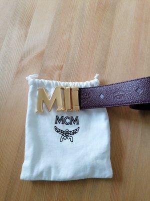 MCM Lederen riem veelkleurig Leer