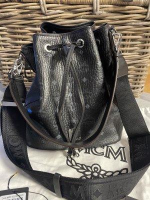 MCM Buideltas zwart-zilver