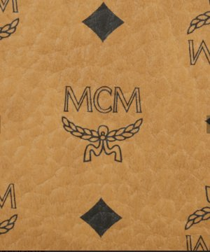 MCM Custodie portacarte cognac-nero