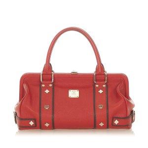 MCM Handbag red leather