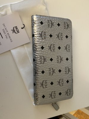 MCM Wallet silver-colored