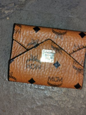 MCM Wallet cognac-coloured