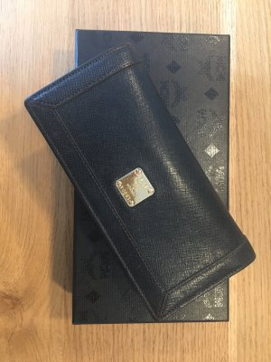 MCM Wallet black-gold-colored