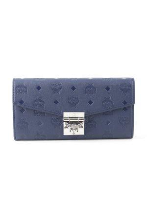 MCM Portemonnee blauw elegant