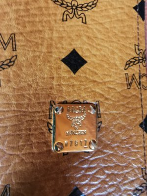 MCM Geldbörse/Brieftasche mit Staubbeutel
