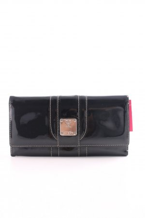 MCM Wallet black business style