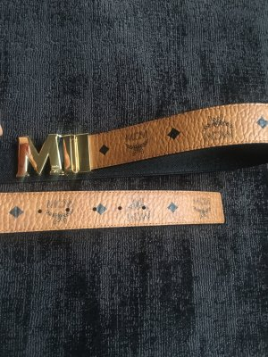 MCM Waist Belt cognac-coloured