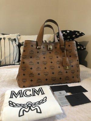 MCM Sac à main brun
