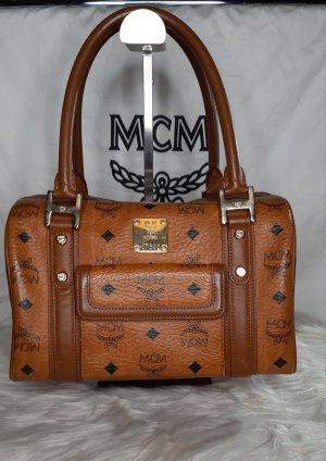 MCM Handbag cognac-coloured