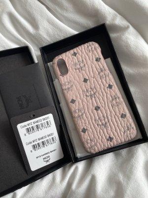 MCM Étui pour téléphone portable rose clair