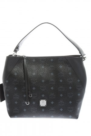 MCM Carry Bag black-blue allover print casual look