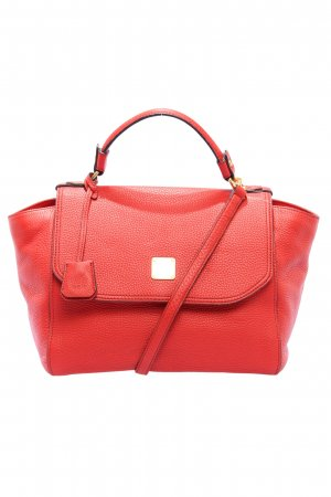 MCM Carry Bag red casual look