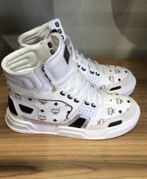 MCM High Top Sneaker white