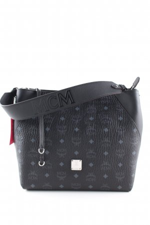 MCM Hobos black-light grey allover print casual look