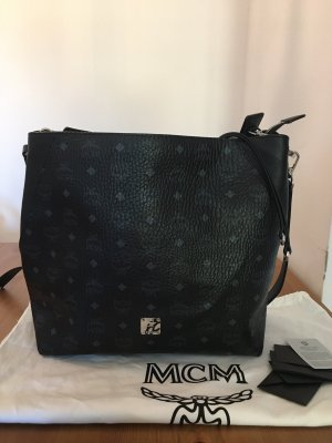 MCM Borsetta nero-argento