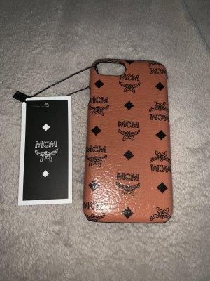 MCM Mobile Phone Case brown-cognac-coloured
