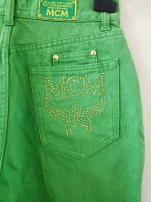 MCM Vaquero holgados verde