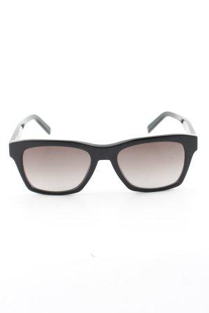 MCM Lunettes carées noir gradient de couleur style d'affaires