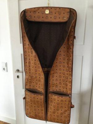 MCM Pokrowiec na ubrania jasnobrązowy Skóra